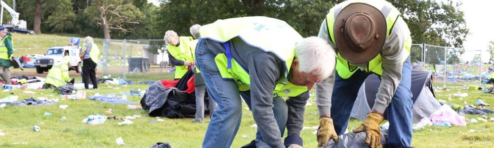 V Festival Clean Up