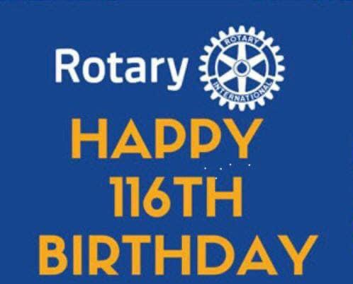 Rotary International's Anniversary 116th