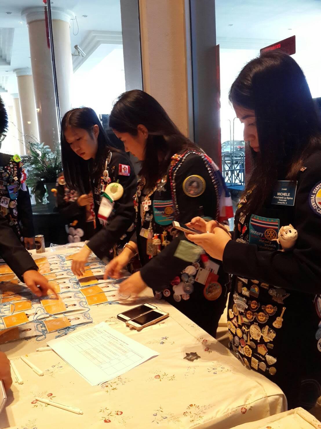 โครงการสอบคัดเลือกนักเรียนแลกเปลี่ยนโรตารีสากล ภาค 3340 ในวันที่ 11 – 13 พฤศจิกายน ณ โรงแรมเจริญธานี ขอนแก่น