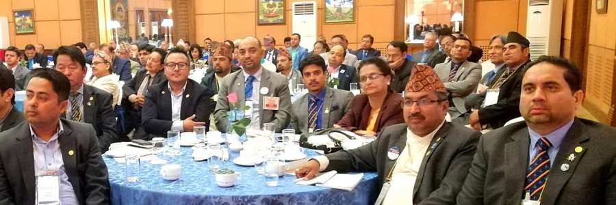 Multi District PETS Participation by President Elect Rtn Surendra Shrestha and CP/PP Rtn Anil Shrestha