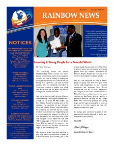 thumbnail of RAINBOW NEWSLETTER ISSUE 26 – FEBUARY 2017
