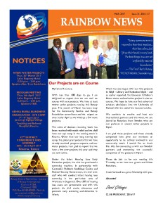 thumbnail of RAINBOW NEWSLETTER ISSUE 31 – MARCH 2017