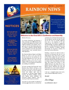 thumbnail of RAINBOW NEWSLETTER ISSUE 33 – APRIL 2017