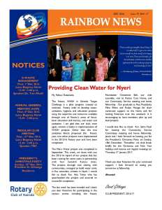 thumbnail of RAINBOW NEWSLETTER ISSUE 19 – DECEMBER 2016