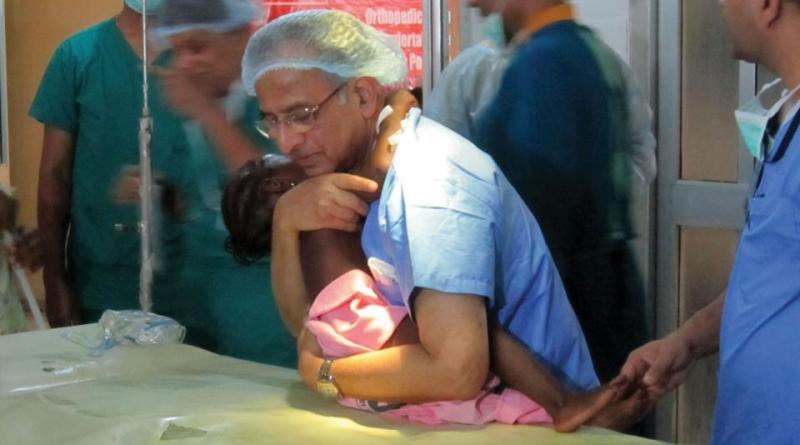 Healing Touch: PRIP Rajendra K Saboo has organised and led many medical missions in India and Africa where Rotarian doctors operate/consult for no other consideration except caring and healing.