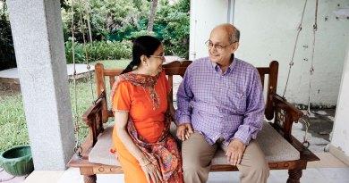 Incoming TRF Trustee Chair Kalyan Banerjee with spouse Binota.