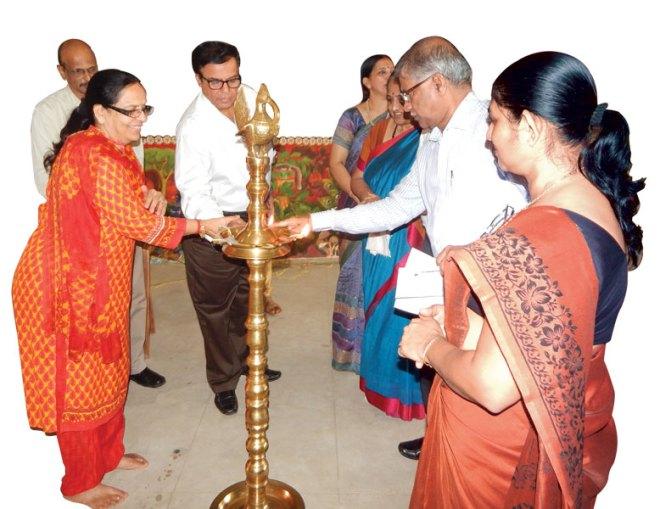 DG Kamlesh Raheja inaugurates a workshop on Child Development organised by RC Trichur Central, D 3201.