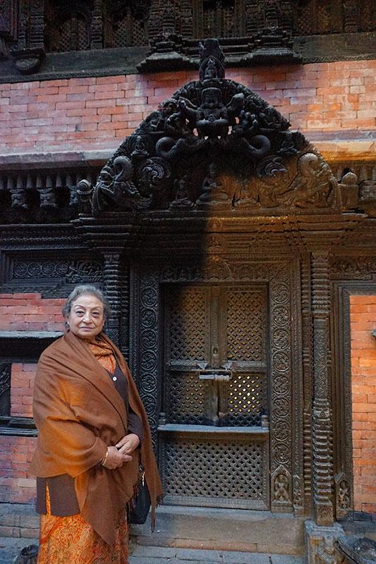 Ambika Shrestha.