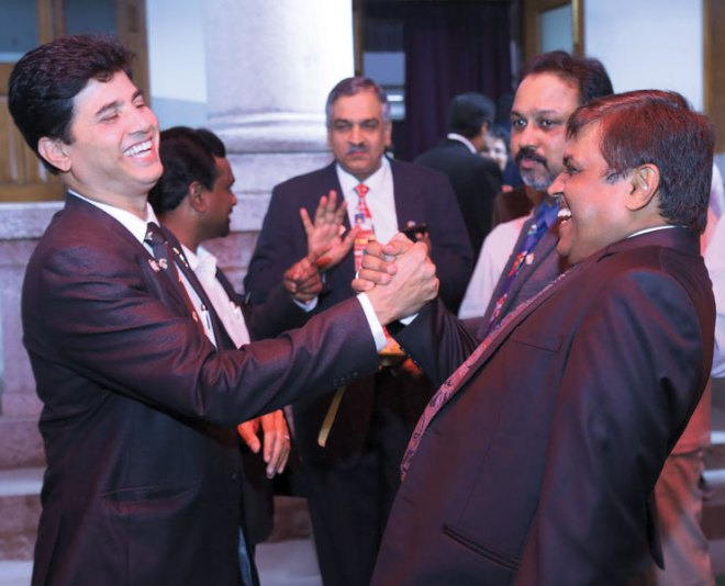 IPDGs Nagesh and Parag Sheth share an infectious camaraderie.