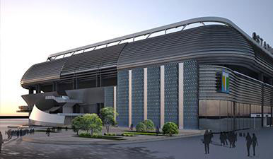 India gets its first convertible stadium The Transtadia arena in Ahmedabad where the Kabaddi World Cup kicked off on October 7 is India's first ever convertible stadium. A section of the stadium can be converted into an indoor arena within six minutes at the touch of a button to host around 14 sports, except cricket, and fashion shows and cultural events. Facilities include a helipad, multi-cuisine restaurants, luxurious suites, business centres and sports academy.