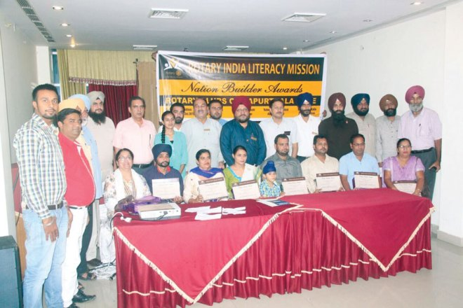 RC Kapurthala Elite RI District 3070 School teachers were honoured by the club for their exemplary services to the student community.