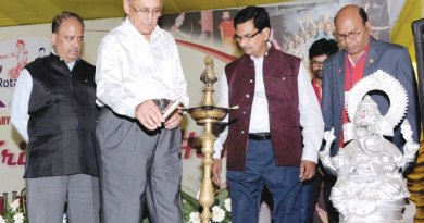 PRIP Kalyan Banerjee inaugurating the Rotary