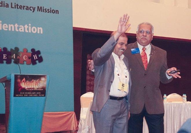 RIDE Manoj Desai with DLCC Ravee Dhotre.