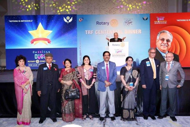 (Frpm L) DG Jaya Shah, DG Narayan Nayak and Sunandha, Ruchika and DG Sharat Jain, Lalitha and DG N Subramanian and DG Vinaykumar Raikar.