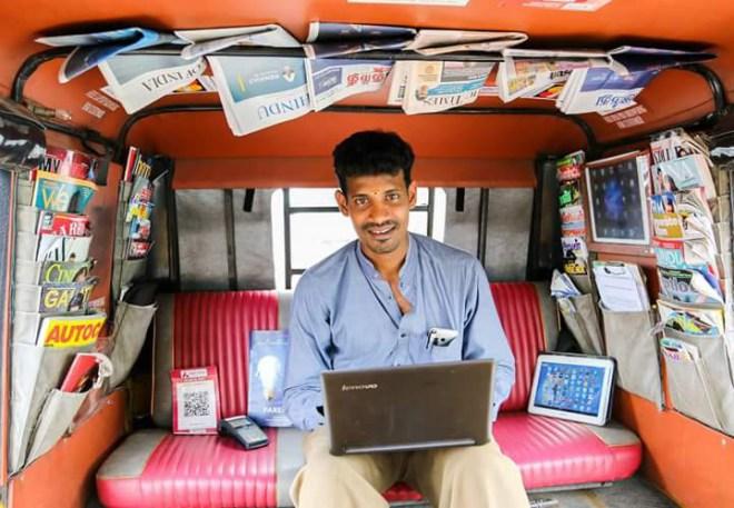 Auto driver Annadurai