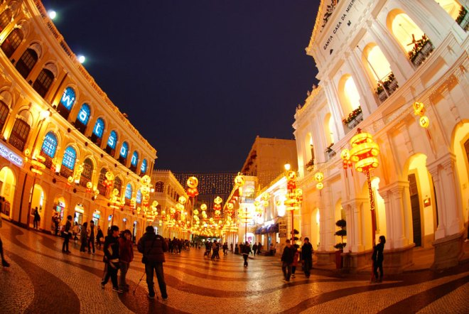 Macao's Senado Square.