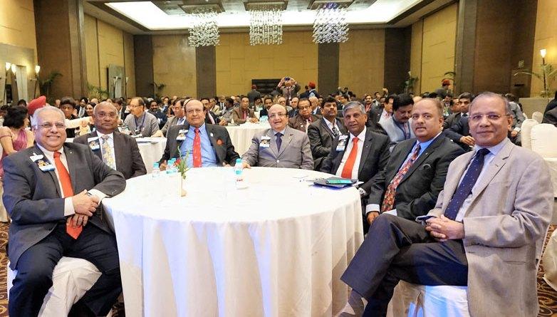 From left: RID Manoj Desai, RIDE C Basker, PRIDs P T Prabhakar, Ashok Mahajan, Y P Das, Shekhar Mehta and IPRIP K R Ravindran.