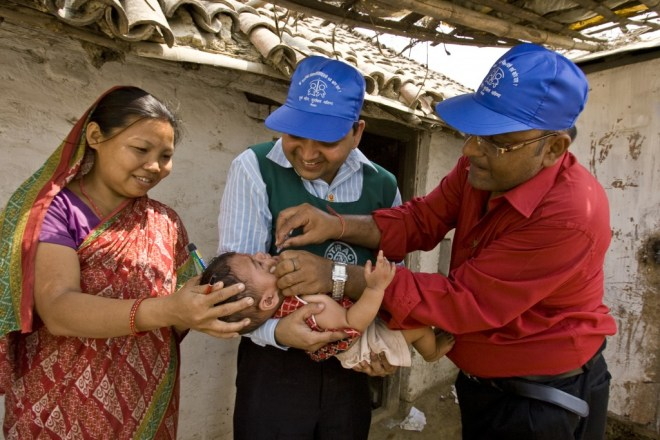 In 1985, Rotary launched its PolioPlus programme to tackle global polio eradication through mass vaccinations.