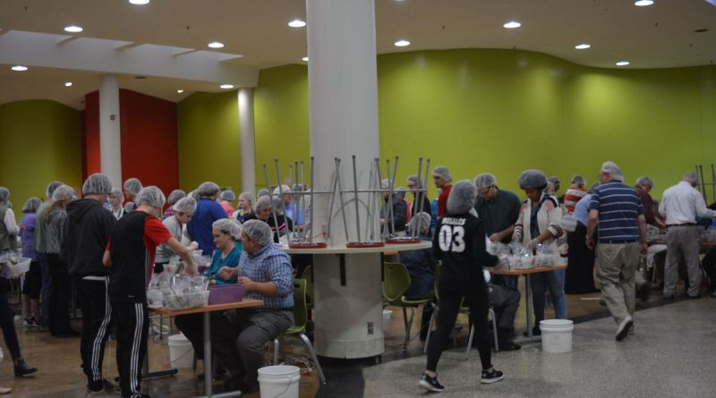 The clubs' annual packaging event will take place on April 8 (Saturday) at at Hallyburton Academy.
