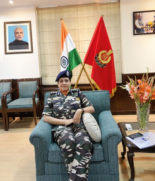 At the SSB office in Delhi.