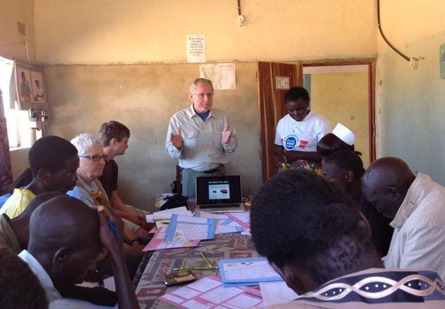 Dr Chuck Erickson of Lincoln has devoted part of his retirement years to making inroads in Zambia where a Rotary project is making a difference in the lives of villagers.