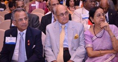 All attention: PRIPs Rajendra Saboo and Kalyan Banerjee with Binota Banerjee.