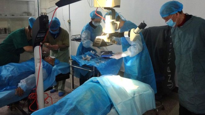 Restoring vision in China.