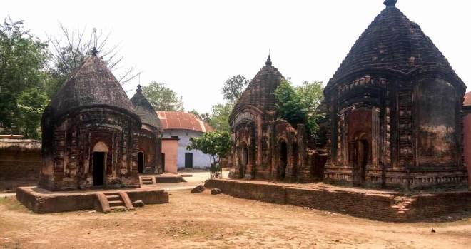 The terracotta temples of Maluti.