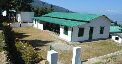 A school in Rudraprayag rebuilt by Rotary.