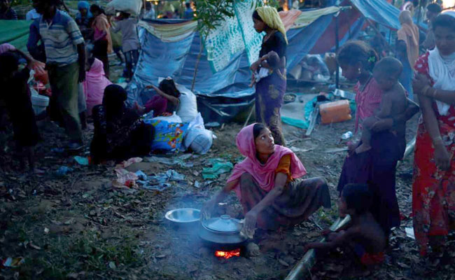 More than 2,350 Rohingya Muslims with serious injuries have been treated in Bangladesh. Photo: NDTV file