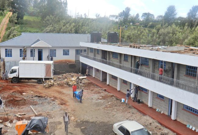 A new orphanage near Nairobi getting ready for inauguration. Photo: Submitted