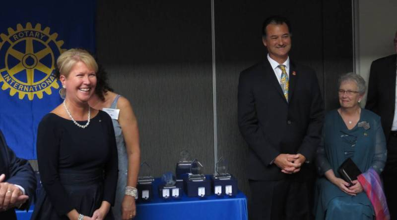 Rotary Foundation's Monica Saville from Sydney and Rotary International immediate past vice president Jennifer Jones from Canada had the audience in rapt attention as they made an impassioned address about the humanitarian work of the Foundation.