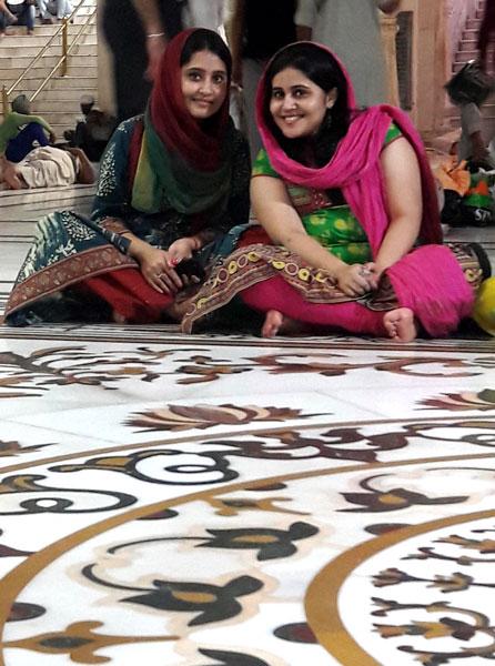 Annets Surabhi and Tanvi Tandon.