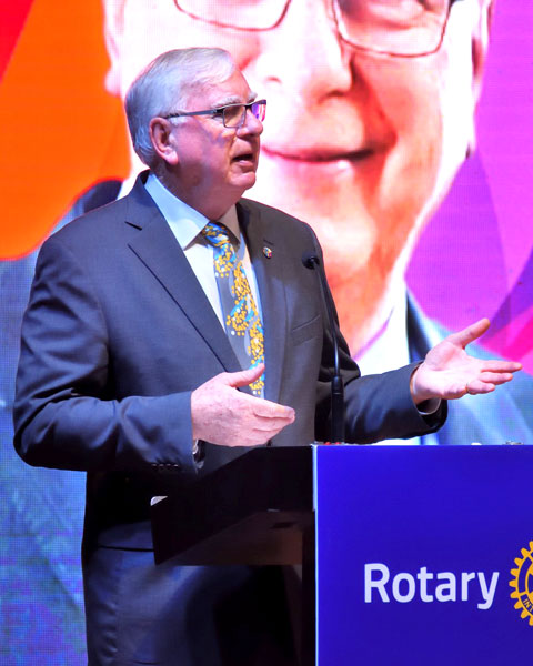 RI President Ian Riseley
