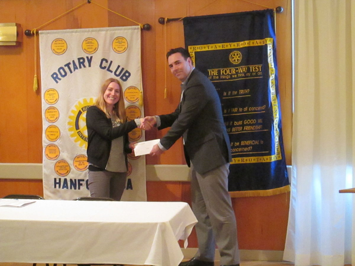 Rotary rewards community service with grants - ROTARY NEWS