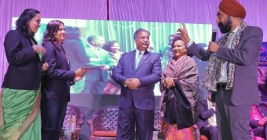 RIPR Vinod Bansal charters RC Vilaspur Queens in the presence of DG Harjit Hura, Sangita Bansal and club leaders.