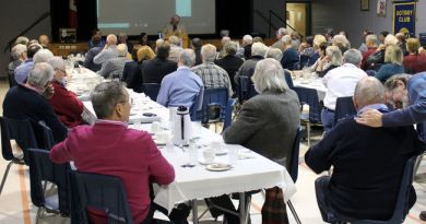 The Rotary Club of Stratford met for the final time at the Kiwanis Community Centre on Thursday.  Photo: Terry Bridge/Stratford Beacon Herald