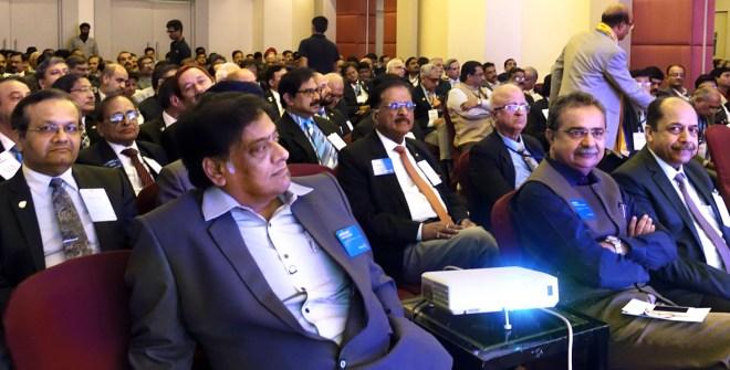 From L: RISAO Head Rajeev Ranjan, RRFC Avinash Potdar,  RC Ashok Gupta, EMGA Ashok Panjwani, RPIC Ashish Desai and  RRFC Vijay Jalan.