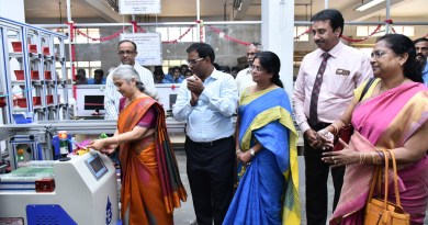 Inauguration of the CIM project. Seen in the picture are DG R Srinivasan and RCME President B S Puroshotham.