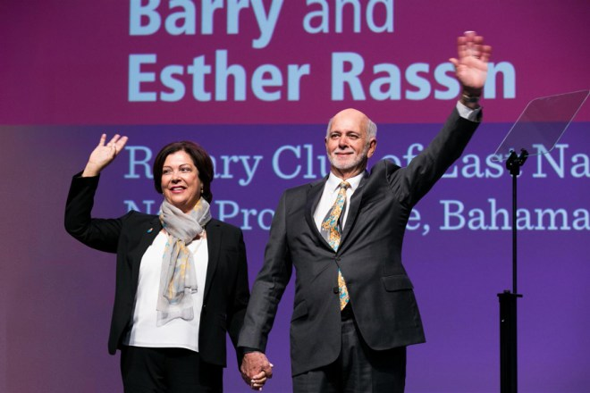 RIPE Barry Rassin and spouse Esther.