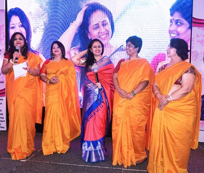 Anita Paramasivan, Lata Kamalesh, Lakshmi Ramakrishnan, M Suguna Devi and Usha Ajit Kumar.