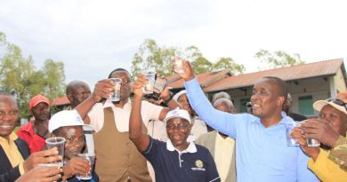 Rotary teams deliver safe water in Kenya
