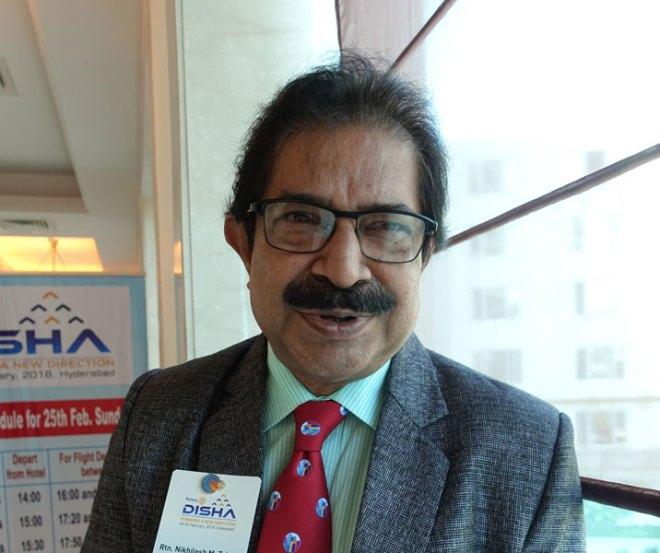 Nikhilesh Trivedi Medical Professional, RC Balaghat Tigers, D 3261