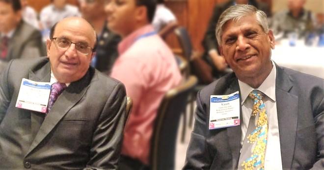 PRIDs Ashok Mahajan and Y P Das.