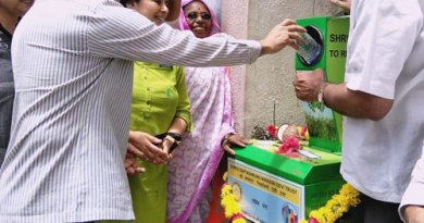 600---Rotary-installs-plastic-shredder-at-temple