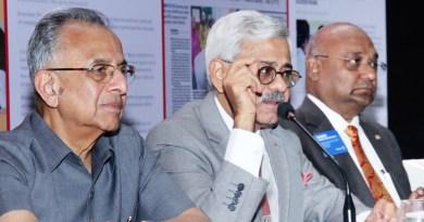 From L: PRIP Rajendra K Saboo, INPPC Chair Deepak Kapur and RID C Basker.