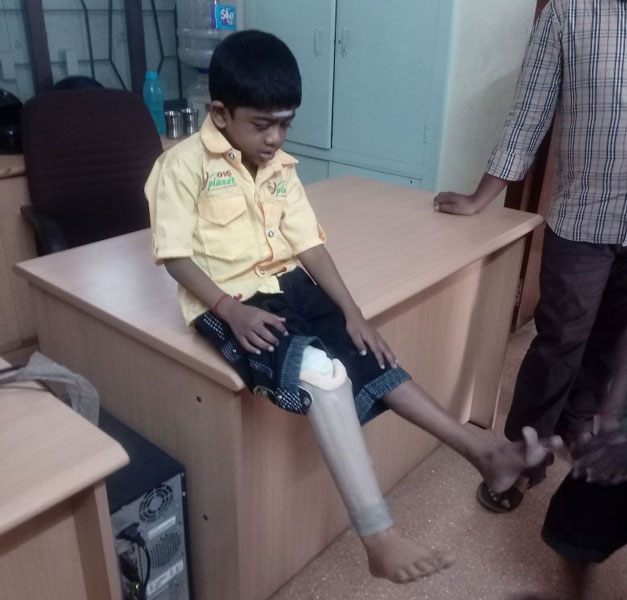 Hariharan (7) is the 18,500th and the youngest beneficiary last year.