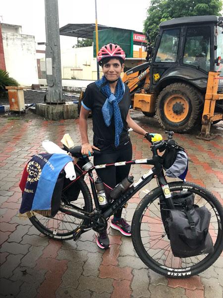 Sunita Singh Choken, mountaineer and cyclist.