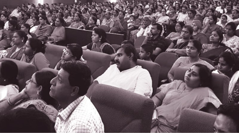 A section of the audience at the seminar.