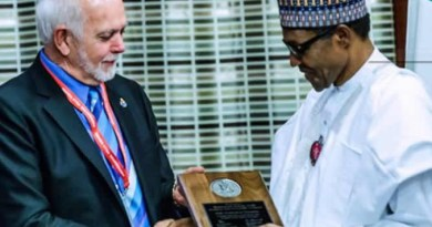 Rotary confers Polio Champion Award to Nigerian President